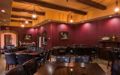Classic Wine Storage Event Room