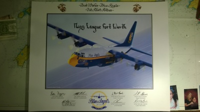 Presented to Ft Worth Council by Fat Albert Crew