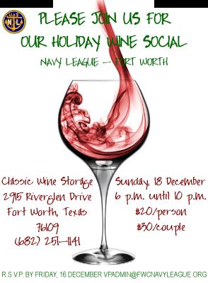 December 2016 Holiday Social Flyer