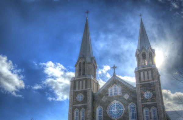 L'église de Baie-Saint-Paul