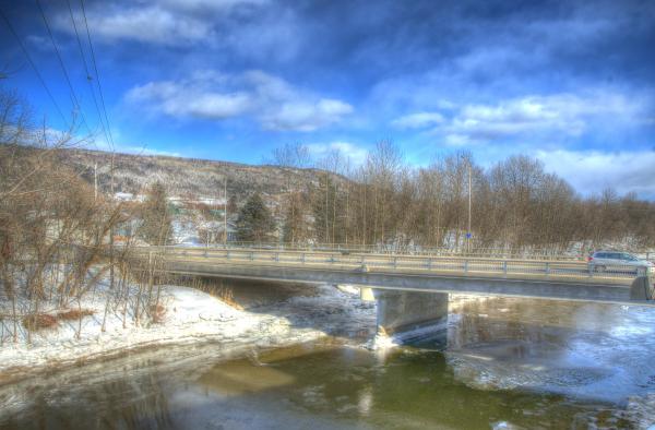 Du Gouffre river in Baie-Saint-Paul