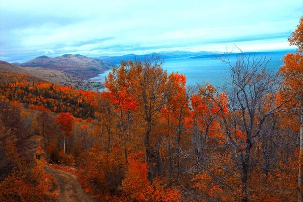 Le Massif de Charlevoix en automne