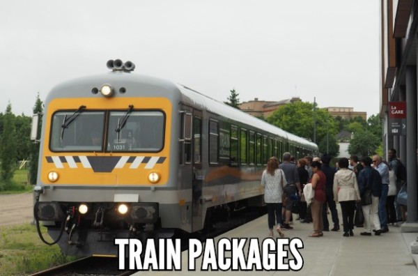 Train packages