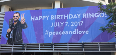 Ringo Starr Celebrated His 77th Birthday With New Record, Peace & Love