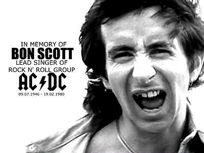 Happy Birthday Bon Scott