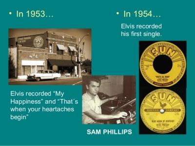 Elvis My Happiness 1953