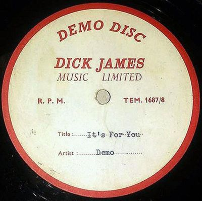Rare Unreleased Beatles Demo Currently For Sale On eBay