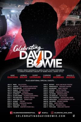 Celebrating David Bowie 2018 tour Announced