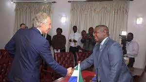 Tony Blair visits Sierra Leone again