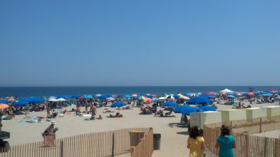 Woman Impaled by Windblown Beach Umbrella in New Jersey