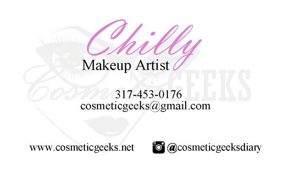 Cosmetic Geeks Business Card