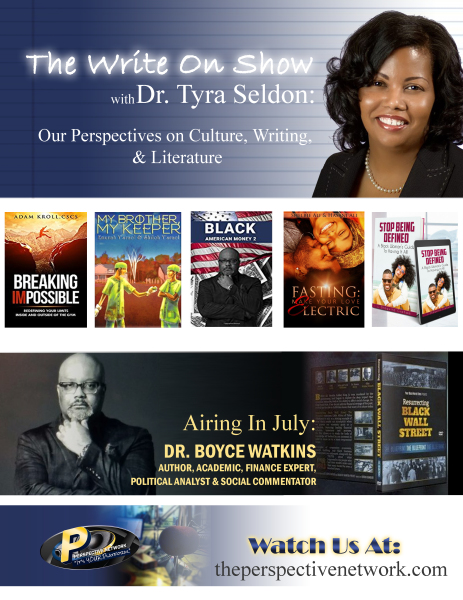 "Dr. Seldon ""The Write On Show"" Flyer"