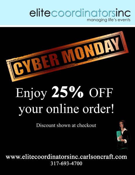 Elite Coordinators Cyber Monday Flyer