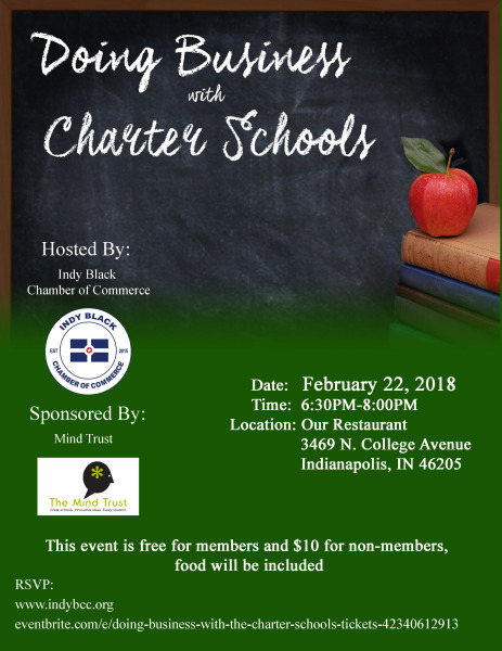 Indy Black Chamber of Commerce: Doing Business w/ Charter Schools