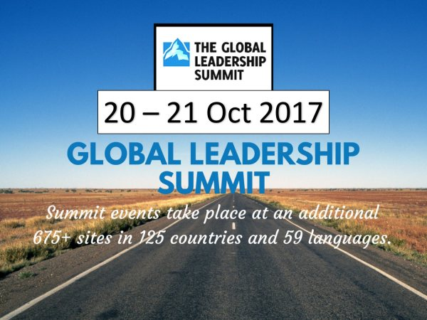 GLOBAL LEADERSHIP SUMMIT 2017