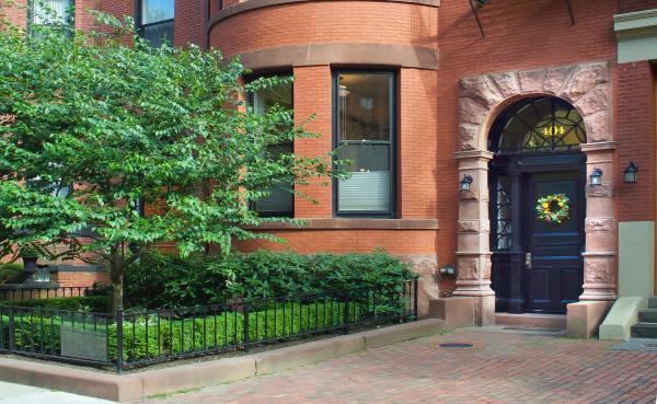 Main Entrance, 404 Marlborough Street