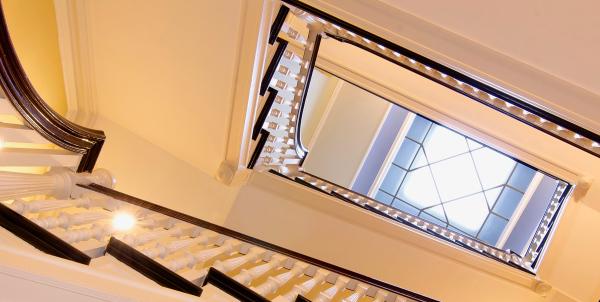 Stairwell and Skylight, 404 Marlborough St
