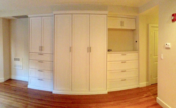 Large bedroom with a lot of closet storage, 404 Marlborough St