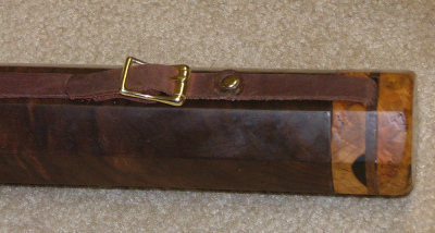 Rod case, walnut