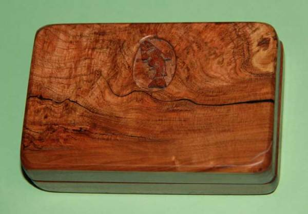 Cherry Burl fly box