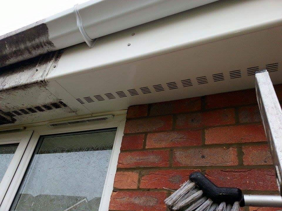 Gutter-Facia-Soffit Cleaning