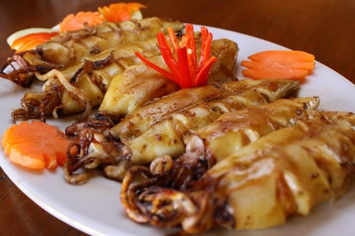 Tanjung Lesung Beach Club sea food