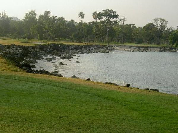 Road to Sumur from Tanjung Lesung Beach Club via Batu Hideung