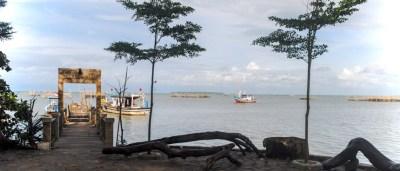 Dermaga kampoeng Nelayan