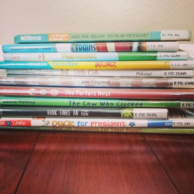Six Tips for Visiting the Library with Little Kids