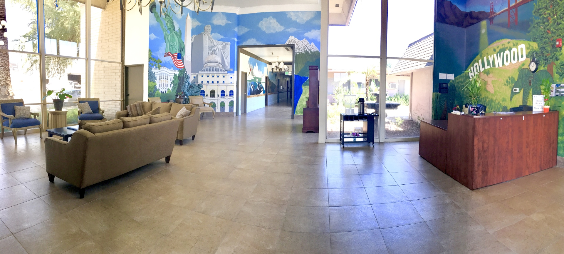 Belmar Villa Foyer