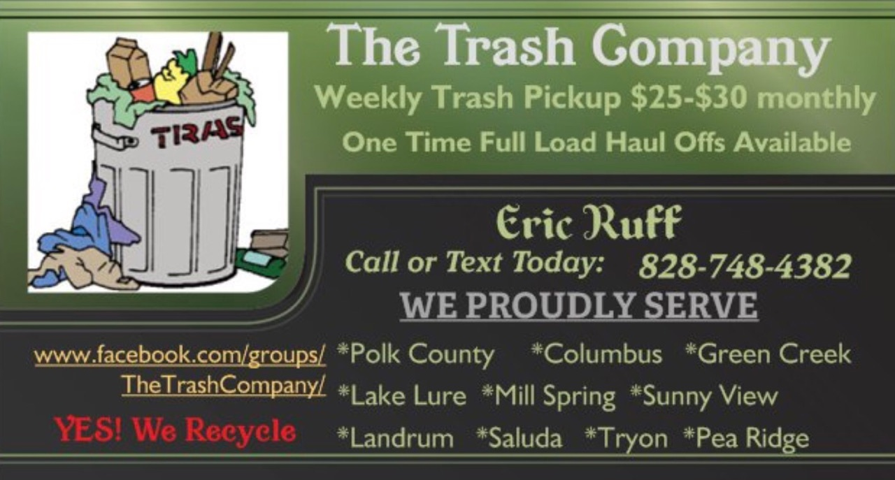 The Trash Company business cards
