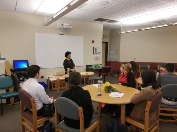Teaching Etiquette at San Miguel High School