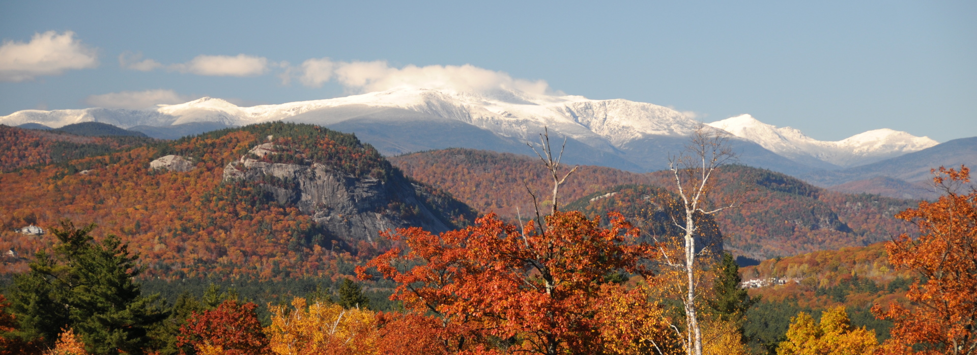 Mount Washington in fall exposure