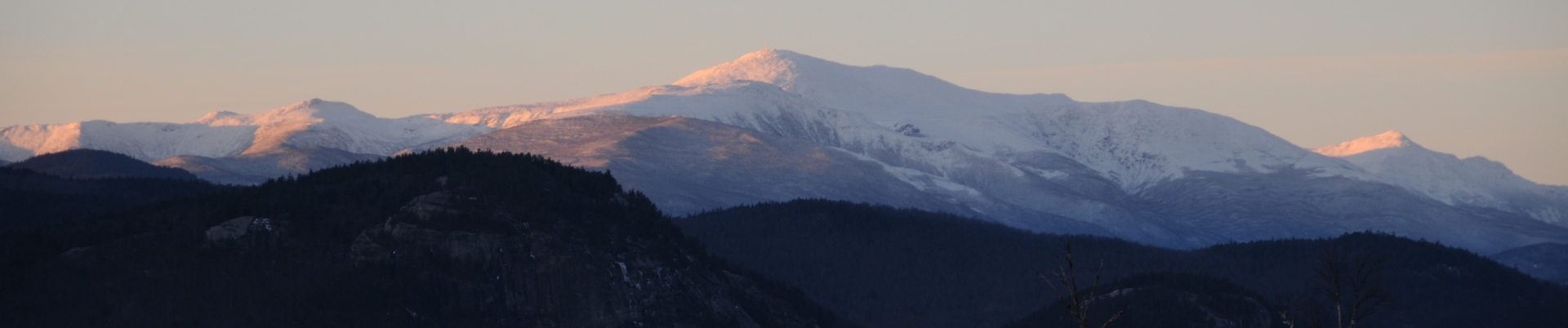 Mount Washington in the evening