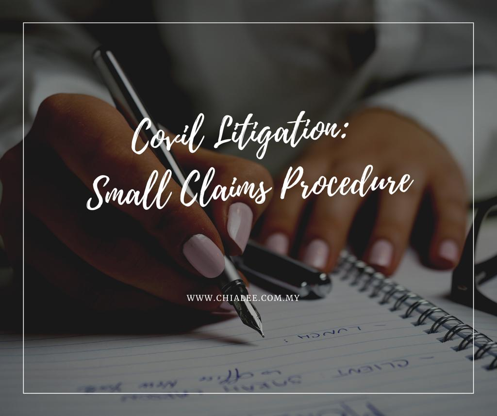 Small Claims Procedure