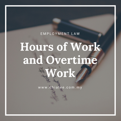 Hours of Work and Overtime Work in Malaysia