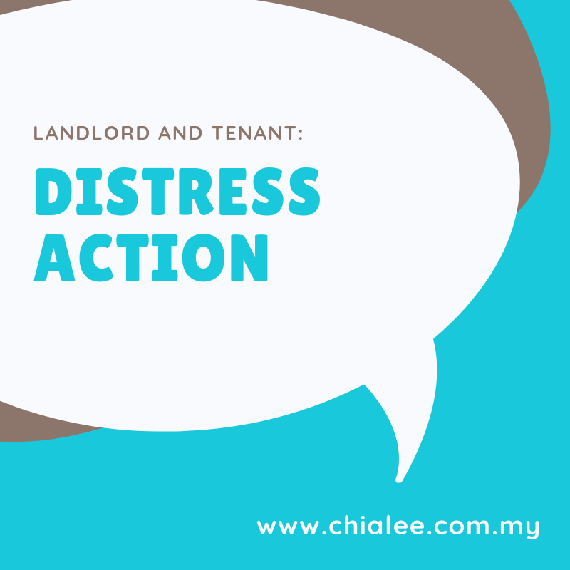 Landlord and Tenant: Distress Action