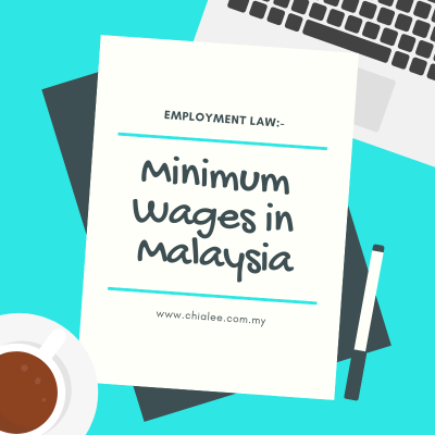 Employment Law: Minimum Wages in Malaysia