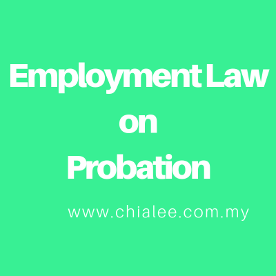Employment Law on Probation