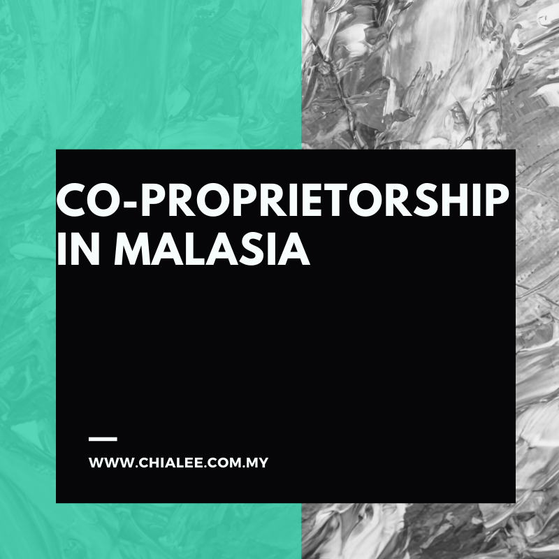 Co-proprietorship in Malaysia