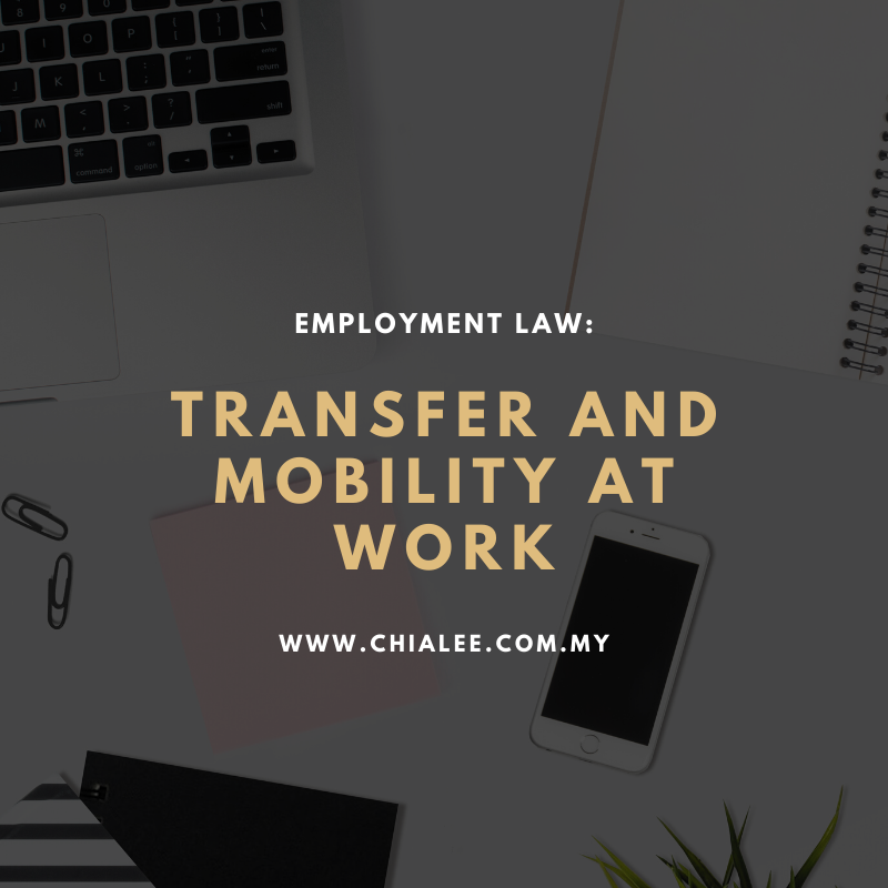 Employment Law: Transfer or Mobility at Work