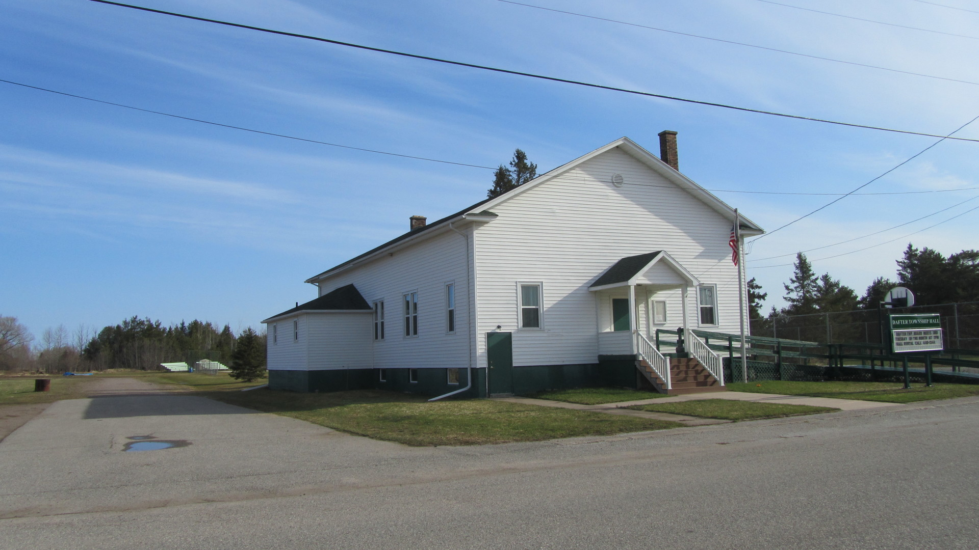 Dafter Township Hall