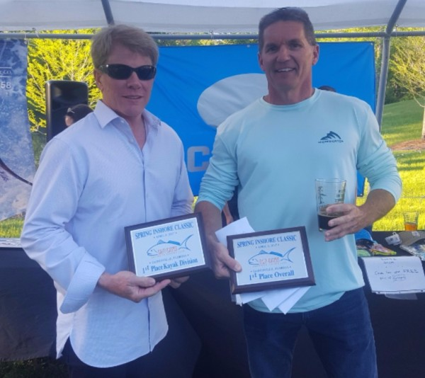 1st Place Overall / 1st Place Kayak Division