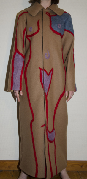 THE NAKED COAT BROWN             5000DKK