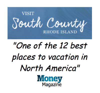 "Visit South County Rhode Island ""One of the 12 best places to vacation in North America"" - Money Magazine"