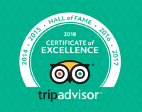 The BLUE WHALE INN is proud to enter the prestigious TripAdvisor HALL of FAME after being awarded the 2018 Certificate of Excellence.