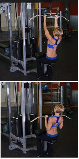 Underhand Lat Pull-Down