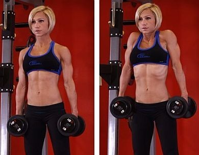 Dumbbell Shrug