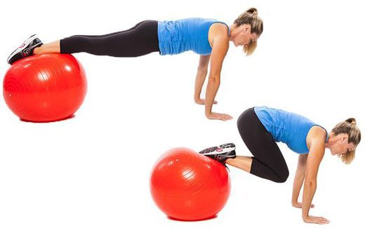 Gym Ball Extension