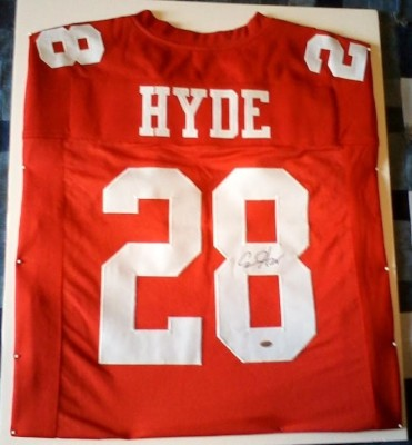 Carlos Hyde Signed Jersey